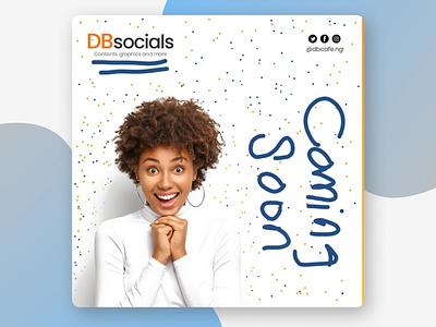 DBsocials (Rebrand) design illustration typography branding graphic design