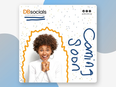 DBsocials (Rebrand) 2 vector logo illustration typography design branding graphic design