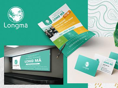 Long Mã: Logo & Brand Identity logo design illustration logo design branding