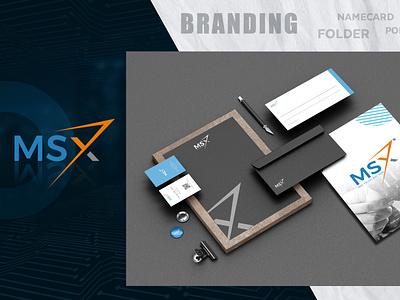 MSX:Logo & Brand Identity web logo design illustration logo design branding