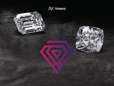 Diamond Concept logo inspiration icon vector logo design logo design illustration