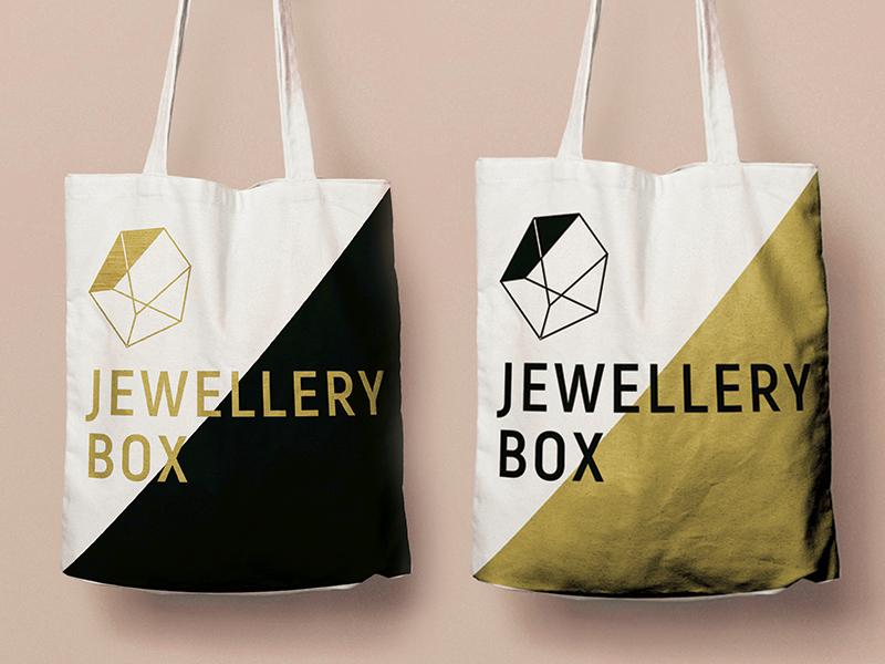 Tote Bag Design Options branding packaging bag tote bags gold white black
