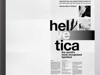 Helvetica Poster poster helvetica black and white grid typography graphic design toronto canada