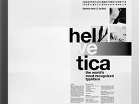 Helvetica Poster