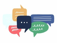 ConvertKit Chat Illustration