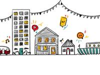 Neighbours Day Aotearoa Illustration
