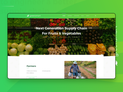 next generation supply chain: greensmart