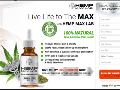 Now You Can Have The Hemp Max Lab Oil Canada hemp max lab oil canada
