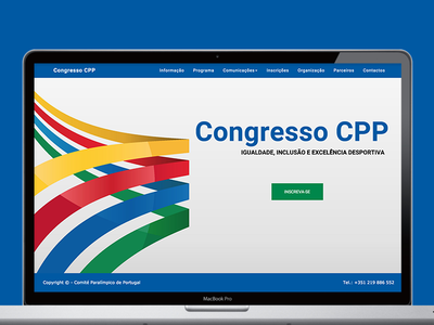 Portugal Paralympic Comittee  portfolio flat portugal sports comittee paralympic cpp congress
