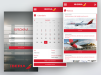 Webapp for Iberia Intranet (proposal)