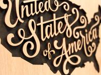USA Closeup