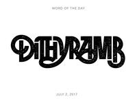Dithyramb