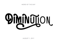 Diminution