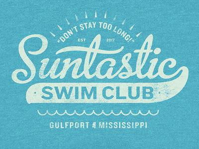 Suntastic Swim Club Logo