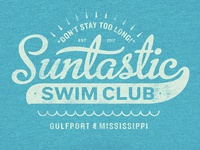 Suntastic Swim Club Logo