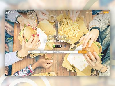 Food order & delivery mobile ux ui restaurant order app food delivery