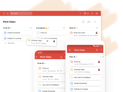 Introducing Todoist Boards board kanban project real live app icon todoist task management todo productivity