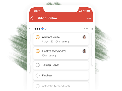 Todoist Boards – Drag Task (iOS) board kanban project real live app icon todoist task management todo productivity