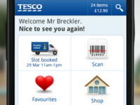 Tesco Groceries Android App