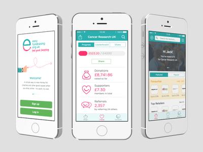 Easyfundraising – Rebranded App