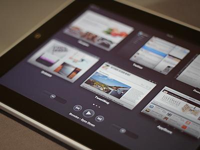 iPad Mission Control Concept