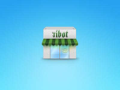 Ribot Shop ribot icon shop store ui ux