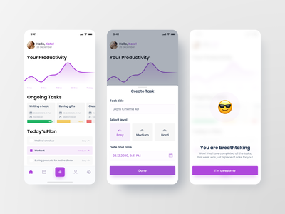 Task Manager app ux ui app projects planning figma mobile design to do app todo list todolist to do todo task manager task manager todo app todoist