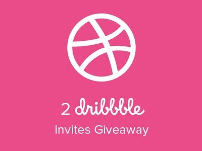 Dribbble Invite Giveaway freebies dribbble invites