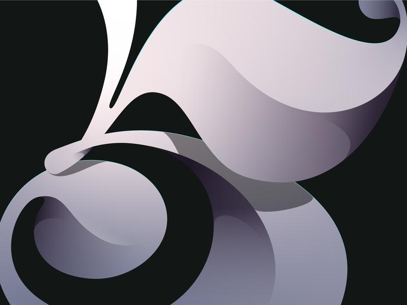 500 Followers! shades design illustration 500 5 shadows illustrator letters letter vector lettering