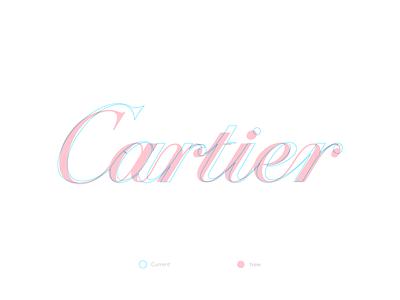 Cartier illustrator concept redesign branding typography cartier logo design letters letter vector lettering