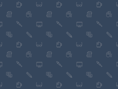 Pattern Reject icons brand pattern