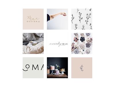Sweet + Moody Moodboard