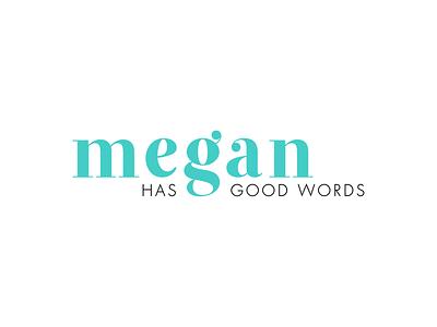 Megan Has Good Words | Final Logo