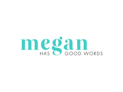 Megan Has Good Words | Final Logo