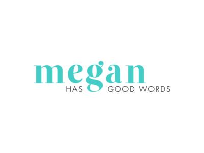 Megan Has Good Words   Final Logo