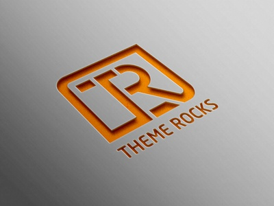 Theme Rocks Logo logo mock up free logos correcter logo rt logo best logo it logo tr logo logo design