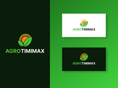 Agrotimimax logo design nature plants vector logo brand design branding design agronomy agro