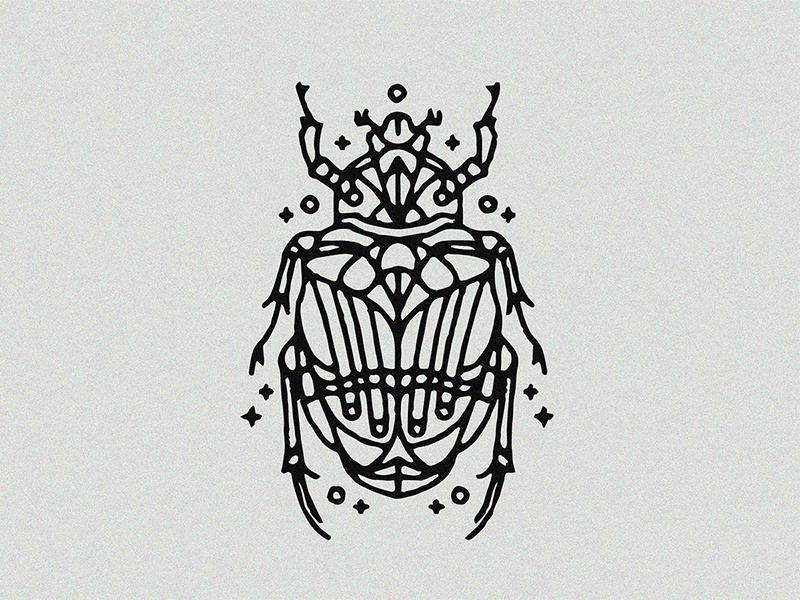 Scarab tattoo by alain l 39 thi dribbble for Scarab tattoo designs