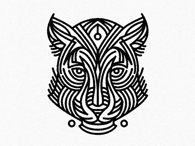 Female jaguar tattoo by alain l 39 thi dribbble for Tattoo shops topeka ks