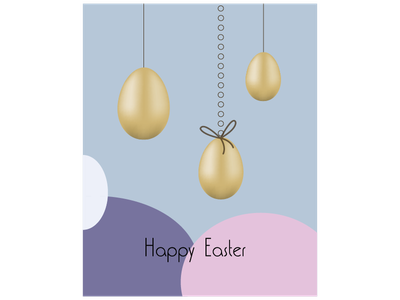 Easter vector colors graphic design minimal illustration design