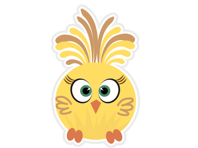 Easter baby chicken easter eyes cat smiling sky nature owl summer isolated art bird fun yellow face happy smile illustration animal cute cartoon
