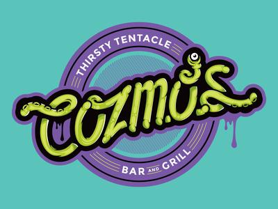 Cozmos vector vectorart illustration graphic design robot brand branding logo