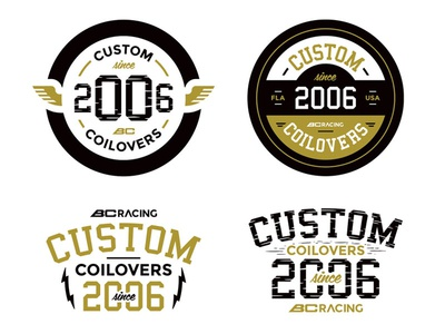 Custom Since 2006 vector vectorart illustration graphic design streetrace brand branding logo
