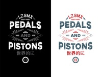 Pedals and Pistons