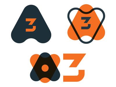A3 Energy Bar Logo type typography icon illustration logo branding energybar food