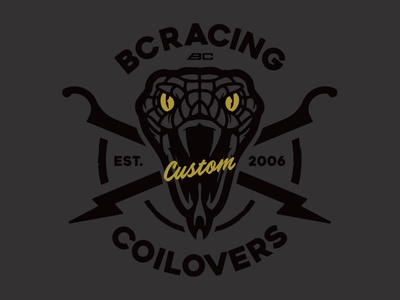 Back in Black racing vectorart illustration art design branding logo