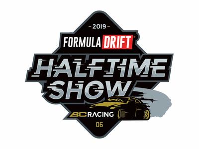 Formula Drift Halftime Show badge design vectorart branding logo