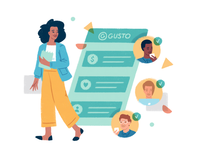 About us product spot illo
