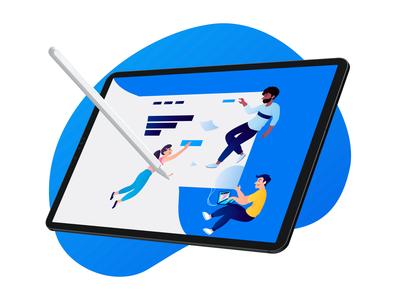 Landing Page Illustration