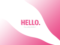 Hello Dribbble - First shot 🍉